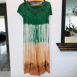 Stunning Oversized Bohemian Dress